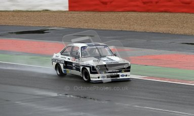© Carl Jones / Octane Photographic Ltd. Silverstone Classic. Fujifilm Touring Car Trophy 1970-2000. Friday 20th July 2012, Mark Wright, Ford RS1800. Digital Ref : 0413CJ7D0012