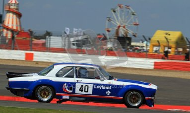 © Carl Jones / Octane Photographic Ltd. Silverstone Classic. Fujifilm Touring Car Trophy 1970-2000. 22nd July 2012. Paul Pochciol, Jaguar XJ12. Digital Ref : 0415CJ7D1476