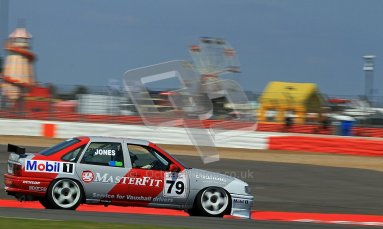 © Carl Jones / Octane Photographic Ltd. Silverstone Classic. Fujifilm Touring Car Trophy 1970-2000. 22nd July 2012. Mark Jones, Vauxhall Cavalier. Digital Ref : 0415CJ7D1579