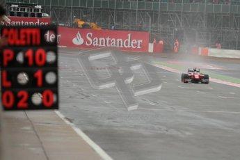 © 2012 Octane Photographic Ltd. British GP Silverstone - Friday 6th July 2012 - GP2 Qualifying - Scuderia Coloni - Stefano Coletti. Digital Ref : 0399lw1d3020