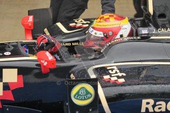 © 2012 Octane Photographic Ltd. British GP Silverstone - Friday 6th July 2012 - GP2 Qualifying - Lotus GP - James Calado. Digital Ref : 0399lw1d3090
