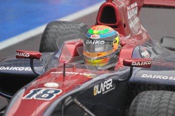 © 2012 Octane Photographic Ltd. British GP Silverstone - Friday 6th July 2012 - GP2 Qualifying - Venezuela GP Lazarus - Fabrizio Crestani. Digital Ref : 0399lw1d3106