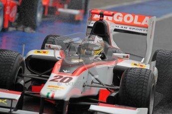 © 2012 Octane Photographic Ltd. British GP Silverstone - Friday 6th July 2012 - GP2 Qualifying - Rapax - Tom Dillmann. Digital Ref : 0399lw1d3148