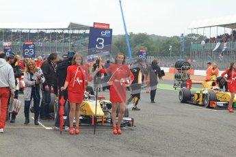 © 2012 Octane Photographic Ltd. British GP Silverstone - Sunday 8th July 2012 - GP2 Race 2 - Dams - Davide Valsecchi and Felipe Nasr. Digital Ref : 0401lw7d0544