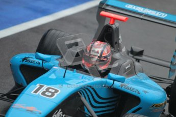© 2012 Octane Photographic Ltd. British GP Silverstone - Friday 6th July 2012 - GP3 Practice - Ocean Racing Technology - Kevin Ceccon. Digital Ref : 0397lw1d2201