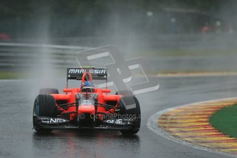 © 2012 Octane Photographic Ltd. Belgian GP Spa - Friday 31st August 2012 - F1 Practice 2. Marussia MR01 - Charles Pic. Digital Ref : 0483lw1d5293