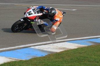 © Octane Photographic Ltd. Thundersport – Donington Park -  24th March 2012. Aprillia RRV450GP Challenge, Sam Cox. Digital ref : 0259lw7d3068
