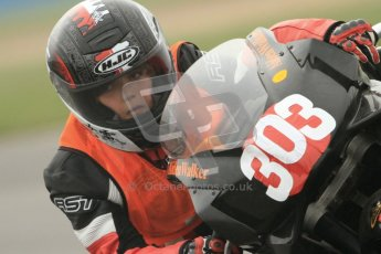 © Octane Photographic Ltd. Thundersport – Donington Park - 24th March 2012. Aprillia Superteens, Aiden Walker. Digital ref : 0252cb7d1587