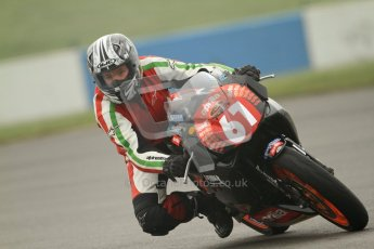© Octane Photographic Ltd. Thundersport – Donington Park - 24th March 2012. Aprillia Superteens, Gideon Thomas. Digital ref : 0252cb7d1599