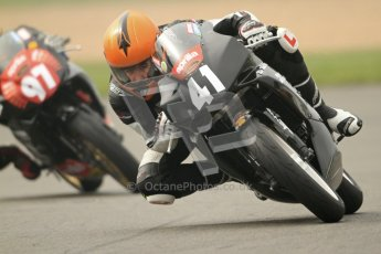© Octane Photographic Ltd. Thundersport – Donington Park - 24th March 2012. Aprillia Superteens, Milo Ward and Bradley Perie. Digital ref : 0252cb7d1603