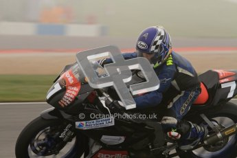 © Octane Photographic Ltd. Thundersport – Donington Park - 24th March 2012. Aprillia Superteens, William Caines. Digital ref : 0252lw7d0106
