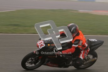 © Octane Photographic Ltd. Thundersport – Donington Park -  24th March 2012. Aprillia Superteens, Aiden Walker. Digital ref : 0252lw7d0114