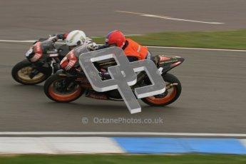 © Octane Photographic Ltd. Thundersport – Donington Park -  24th March 2012. Aprillia Superteens, Louis Valleley and Lewis Rollo. Digital ref : 0252lw7d0225