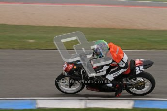© Octane Photographic Ltd. Thundersport – Donington Park - 24th March 2012. Aprillia Superteens, Sam Wilford. Digital ref : 0252lw7d0445