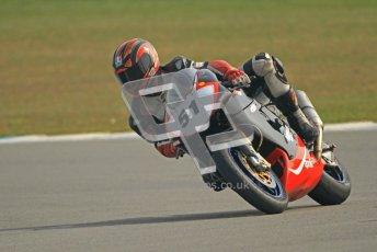© Octane Photographic Ltd. Thundersport – Donington Park -  24th March 2012. RST Motorcycle Clothing Golden Era Superbikes, Charlie Flett. Digital ref : 0257cb7d2805