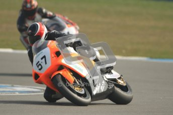 © Octane Photographic Ltd. Thundersport – Donington Park -  24th March 2012. RST Motorcycle Clothing Golden Era Superbikes, Rob Wilson. Digital ref : 0257cb7d2835