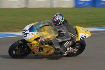 © Octane Photographic Ltd. Thundersport – Donington Park -  24th March 2012. RST Motorcycle Clothing Golden Era Superbikes, Paul Maxfield. Digital ref : 0257lw7d2138