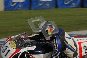 © Octane Photographic Ltd. Thundersport – Donington Park -  24th March 2012. RST Motorcycle Clothing Golden Era Superbikes, Ed Godfrey. Digital ref : 0257lw7d2316