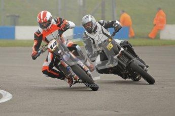 © Octane Photographic Ltd. Thundersport – Donington Park -  24th March 2012. HEL Performance Streetfighters, Brad Davey and Keith Warren. Digital ref : 0253cb7d1709