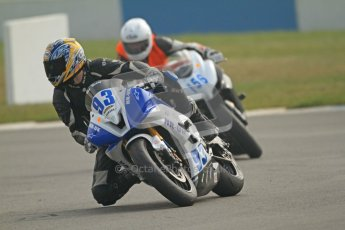 © Octane Photographic Ltd. Thundersport – Donington Park -  24th March 2012. HMT Racing Pre-National Sport 600, Ben Neary and Paul Goodwin. Digital ref : 0255cb7d2185