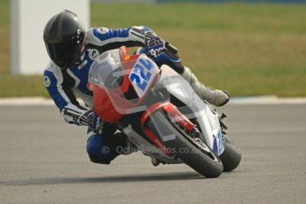 © Octane Photographic Ltd. Thundersport – Donington Park -  24th March 2012. HMT Racing Pre-National Sport 600, Barry Teasdale. Digital ref : 0255cb7d2279