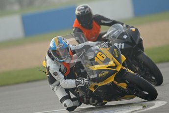 © Octane Photographic Ltd. Thundersport – Donington Park -  24th March 2012. HMT Racing Pre-National Sport 600, Daniel Ingham and Ryan Peters. Digital ref : 0255cb7d2386