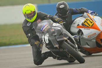 © Octane Photographic Ltd. Thundersport – Donington Park -  24th March 2012. Doodson Motorsport Supertwins & F400, Steve Tomes and Dan Brady. Digital ref : 0254cb7d1824