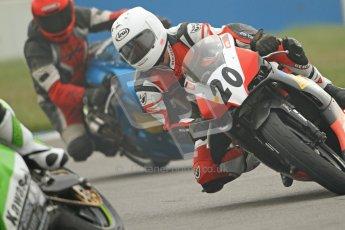 © Octane Photographic Ltd. Thundersport – Donington Park - 24th March 2012. Doodson Motorsport Supertwins & F400, Tom Oliver. Digital ref : 0254cb7d1828