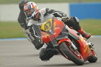 © Octane Photographic Ltd. Thundersport – Donington Park - 24th March 2012. Doodson Motorsport Supertwins & F400, Nathan Hutchinson. Digital ref : 0254cb7d1842