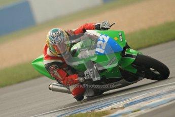 © Octane Photographic Ltd. Thundersport – Donington Park - 24th March 2012. Doodson Motorsport Supertwins & F400, Mat Zschiesche. Digital ref : 0254cb7d2050