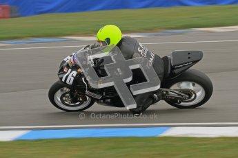 © Octane Photographic Ltd. Thundersport – Donington Park - 24th March 2012. Doodson Motorsport Supertwins & F400, Steve Tomes. Digital ref : 0254lw7d0857