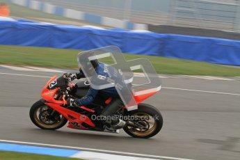 © Octane Photographic Ltd. Thundersport – Donington Park - 24th March 2012. Doodson Motorsport Supertwins & F400, Tony Rainford. Digital ref : 0254lw7d0944