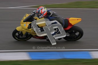 © Octane Photographic Ltd. Thundersport – Donington Park -  24th March 2012. Doodson Motorsport Supertwins & F400, Dale Thomas. Digital ref : 0254lw7d1239