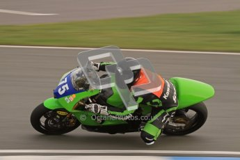 © Octane Photographic Ltd. Thundersport – Donington Park -  24th March 2012. Doodson Motorsport Supertwins & F400, Ozzy Madey. Digital ref : 0254lw7d1246