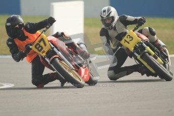 © Octane Photographic Ltd. Thundersport – Donington Park - 24th March 2012. Bridgestone Thundersport 500, Adam Clarke and Richard Blunt. Digital ref : 0256cb7d2516