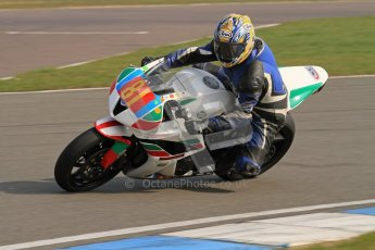 © Octane Photographic Ltd. Thundersport – Donington Park -  24th March 2012. Morello Services Thundersport GP1 / Superstock 1000, Eric Wilson. Digital ref : 0258lw7d2594