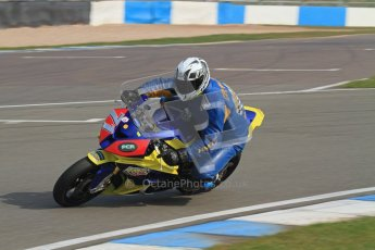 © Octane Photographic Ltd. Thundersport – Donington Park -  24th March 2012. Morello Services Thundersport GP1 / Superstock 1000, Philip Crowe. Digital ref : 0258lw7d2610