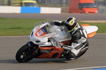© Octane Photographic Ltd. Thundersport – Donington Park -  24th March 2012. Morello Services Thundersport GP1 / Superstock 1000, Tom Webb. Digital ref : 0258lw7d2668