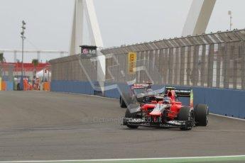 © 2012 Octane Photographic Ltd. European GP Valencia - Friday 22nd June 2012 - F1 Practice 1. Marussia MR01 - Charles Pic. Digital Ref : 0367lw7d9855