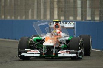 © 2012 Octane Photographic Ltd. European GP Valencia - Friday 22nd June 2012 - F1 Practice 1. Force India VJM05 - Jules Bianchi. Digital Ref : 0367lw1d2824