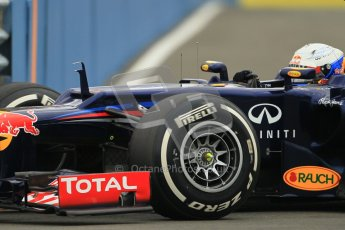 © 2012 Octane Photographic Ltd. European GP Valencia - Friday 22nd June 2012 - F1 Practice 1. Red Bull RB8 - Sebastian Vettel. Digital Ref : 0367lw1d2883
