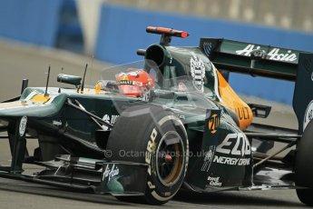 © 2012 Octane Photographic Ltd. European GP Valencia - Friday 22nd June 2012 - F1 Practice 1. Caterham CT01 - Heikki Kovalainen. Digital Ref : 0367lw1d2899