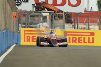 © 2012 Octane Photographic Ltd. European GP Valencia - Friday 22nd June 2012 - F1 Practice 1. Ferrari F2012 - Fernando Alonso. Digital Ref : 0367lw1d3132