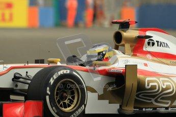 © 2012 Octane Photographic Ltd. European GP Valencia - Friday 22nd June 2012 - F1 Practice 1. HRT F112 - Pedro de La Rosa. Digital Ref : 0367lw1d3193