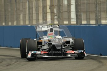 © 2012 Octane Photographic Ltd. European GP Valencia - Friday 22nd June 2012 - F1 Practice 1. Sauber C31 - Sergio Perez. Digital Ref : 0367lw1d3205