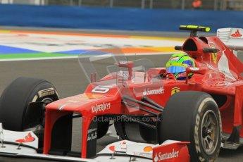 © 2012 Octane Photographic Ltd. European GP Valencia - Friday 22nd June 2012 - F1 Practice 1. Ferrari F2012 - Felipe Massa. Digital Ref : 0367lw1d3256