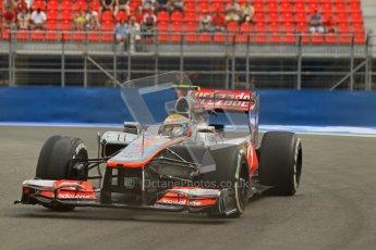 © 2012 Octane Photographic Ltd. European GP Valencia - Friday 22nd June 2012 - F1 Practice 1. McLaren MP4/27 - Lewis Hamilton. Digital Ref : 0367lw1d3273