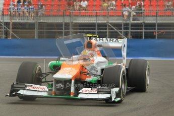 © 2012 Octane Photographic Ltd. European GP Valencia - Friday 22nd June 2012 - F1 Practice 1. Force India VJM05 - Jules Bianchi. Digital Ref : 0367lw1d3404