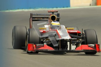 © 2012 Octane Photographic Ltd. European GP Valencia - Friday 22nd June 2012 - F1 Practice 2. HRT F112 - Pedro de La Rosa. Digital Ref : 0368lw1d3826