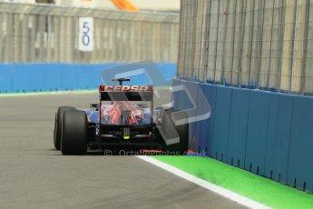 © 2012 Octane Photographic Ltd. European GP Valencia - Friday 22nd June 2012 - F1 Practice 2. Toro Rosso STR7 - Daniel Ricciardo. Digital Ref : 0368lw1d3840